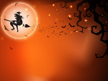 Halloween night background Royalty Free Stock Photo
