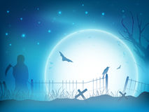 Halloween night background. Royalty Free Stock Photos