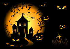 Halloween night background Royalty Free Stock Photography