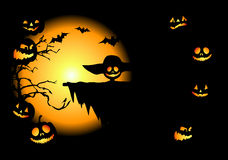 Halloween night background Royalty Free Stock Image