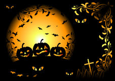 Halloween night background Stock Photography