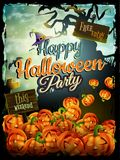 Halloween night background. EPS 10 Royalty Free Stock Image