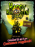 Halloween night background. EPS 10 Royalty Free Stock Photography