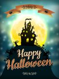 Halloween night background. EPS 10 Stock Photos