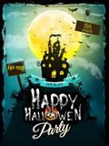 Halloween night background. EPS 10 Royalty Free Stock Photo