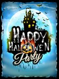 Halloween night background. EPS 10 Stock Image