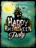 Halloween night background. EPS 10 Royalty Free Stock Image