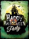 Halloween night background. EPS 10 Stock Images