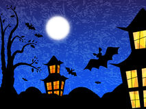 Halloween. Night background vector illustration vector illustration