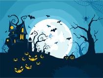 Halloween night background in vector part 3