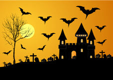 Halloween night. Royalty Free Stock Photo