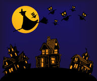 Halloween Night Royalty Free Stock Images