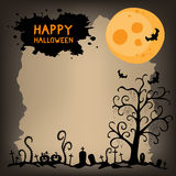 Halloween night scary background Royalty Free Stock Photography
