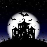 Halloween night royalty free illustration