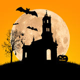Halloween night,useful for some Halloween concept Stock Images