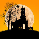 Halloween night,useful for some Halloween concept Royalty Free Stock Photo