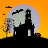 Halloween night,useful for some Halloween concept Stock Photo