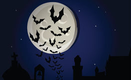 Halloween night vector Royalty Free Stock Photo