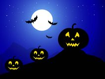 Halloween Night - Vector Royalty Free Stock Image