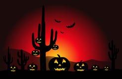 Halloween Night - Vector Royalty Free Stock Image