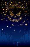 Halloween nightstars Royalty Free Stock Photo