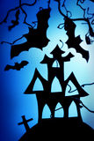 halloween noc Fotografia Royalty Free