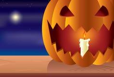 halloween noc bania Fotografia Stock