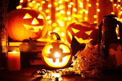 Halloween objects Royalty Free Stock Images