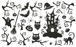 Free Halloween Objects Set Stock Image - 100603161