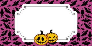 Halloween od tła blasku księżyca uwagi ilustracji
