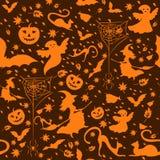 Halloween od tła blasku księżyca uwagi Zdjęcia Stock