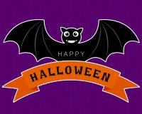 Halloween odbitkowi nietoperza największych partii Fotografia Royalty Free