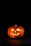 Halloween - old jack-o-lantern Royalty Free Stock Images