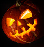 Halloween - old jack-o-lantern Royalty Free Stock Photos
