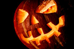 Halloween, old jack o lantern Royalty Free Stock Photos