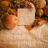 Halloween old paper Royalty Free Stock Images