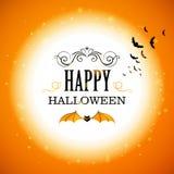 Halloween-ontwerp Royalty-vrije Stock Afbeelding