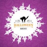 Halloween-ontwerp Royalty-vrije Stock Foto's