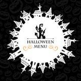 Halloween-ontwerp Stock Foto