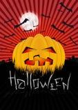 Halloween-Ontwerpmalplaatje Stock Foto's