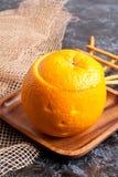 Halloween orange Stock Image