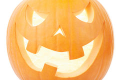 Halloween, orange pumpkin close up Royalty Free Stock Photography