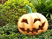 Halloween Orange Pumpkin Jack o lantern Stock Images