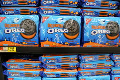Halloween Oreos Royalty Free Stock Photography