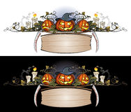 Halloween_ornament_1 Lizenzfreie Stockbilder