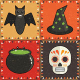 Halloween ornaments Royalty Free Stock Photography