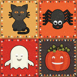 Halloween ornaments Royalty Free Stock Images