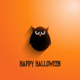 Halloween owl background Royalty Free Stock Images