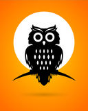 Halloween Owl Royalty Free Stock Photos