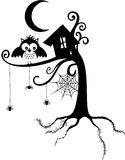 Halloween Owl Stock Image